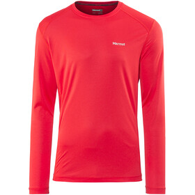 Marmot Windridge longsleeve Heren rood